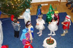 Serbarea de crăciun - Grădiniţă