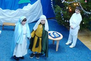 Serbarea de crăciun - Şcoală